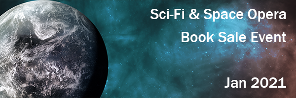 Join multiple #SF authors for a huge book sale on #SciFi and #SpaceOpera books