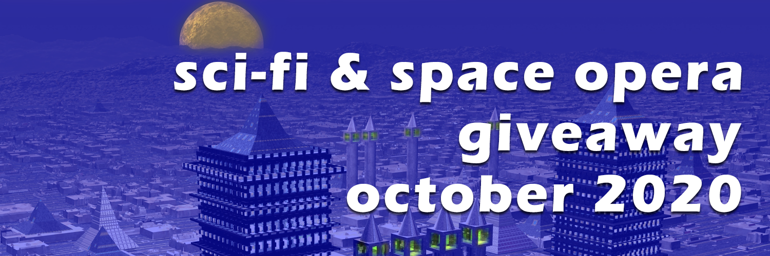 Join multiple #SF authors for a giveaway of #SciFi and #SpaceOpera books all during October https://storyoriginapp.com/to/N8qswSf