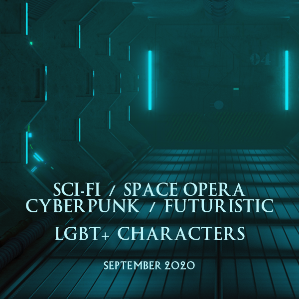 Pick up #SciFi and #SpaceOpera #Books with #LGBT+ Characters