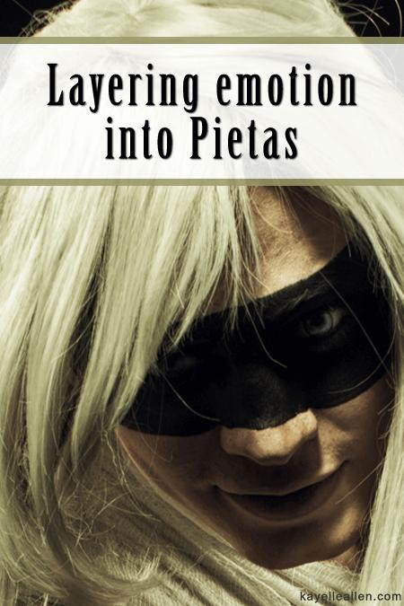 Layering emotion into characters: Writing Pietas #writerslife #writers