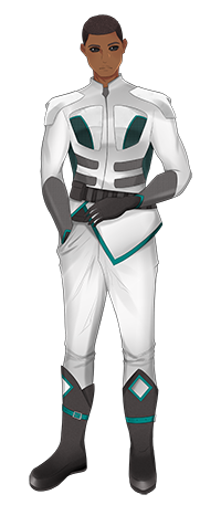 Cyken - officer. Art by Myamiiyaa for Kayelle Allen