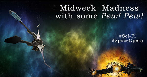 Multi-author #SciFi and #SpaceOpera #Giveaway Only books with action Pew! Pew!