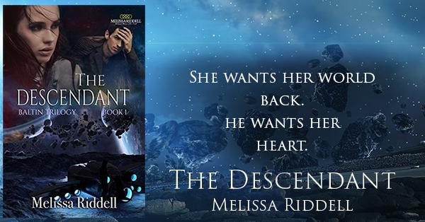 She wants her world back; he wants her heart. The Descendant #SciFi #Romance by Melilssa Riddell @MelCRiddell