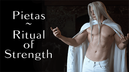 Pietas ritual of strength, performed by @nitsvetov