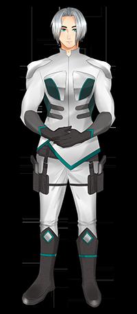 Pietas - officer. Art by Myamiiyaa for Kayelle Allen
