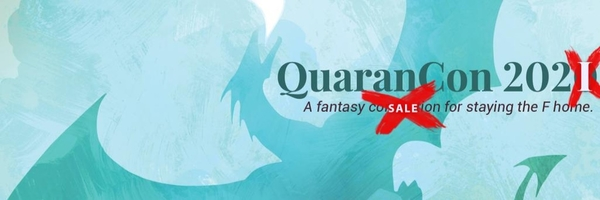 Check out the book fair for #QuaranCon a free, all-day online comics convention #SciFi #Cosplay
