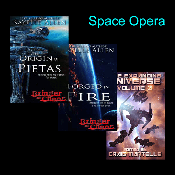 Bringer of Chaos series - if you want to read space opera, read space opera