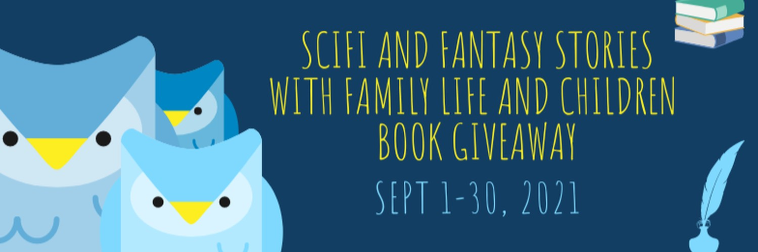 Read some Scifi and Fantasy with family life and children #SciFi #Fantasy