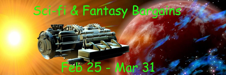 #BookFair for Sci-Fi & Fantasy Bargains Feb 25-Mar 31 #SciFi #Books