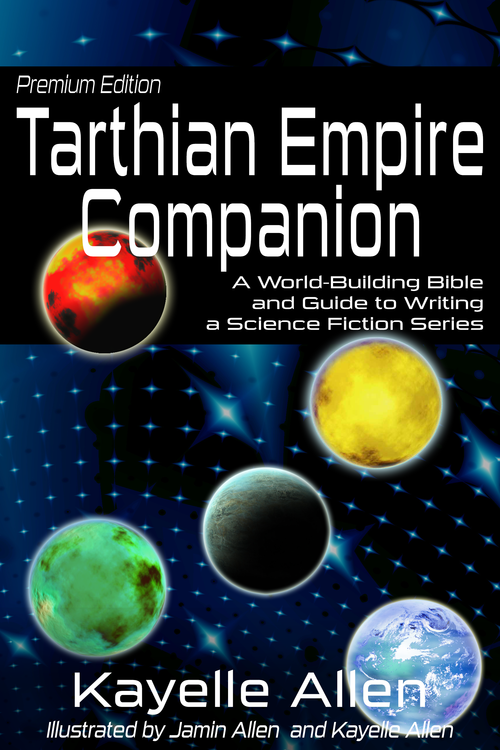 Tarthian Empire Companion #NonFiction #SciFi #AmWriting