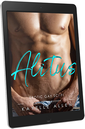 Alitus: Tales of the Chosen #WriteLGBTQ #SciFi #Romance