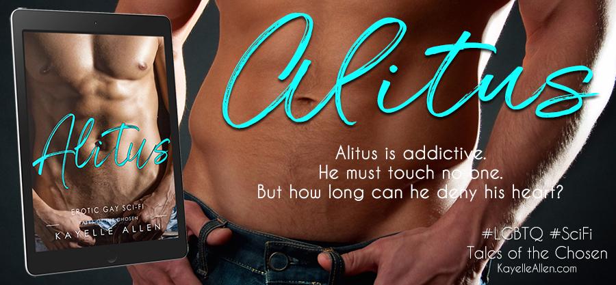 Alitus: Tales of the Chosen #WriteLGBTQ #SciFi #Romance