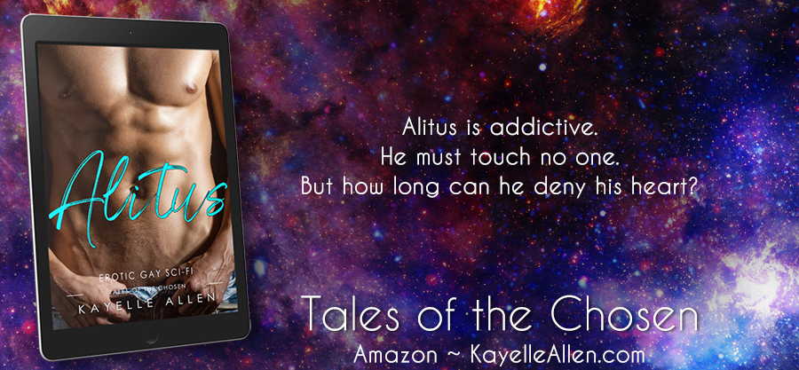 How long can he deny his heart? #Excerpt Alitus by Kayelle Allen #SciFi #MFRWhooks
