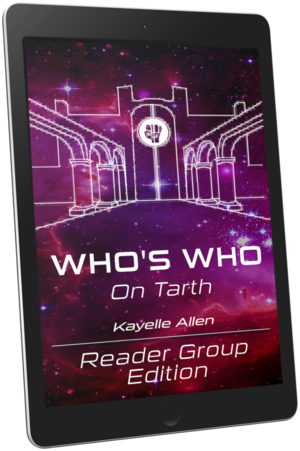 Who's Who on Tarth? This book shows you! #SciFi